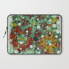 Dark Green Dot Laptop Sleeve