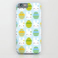 Kawaii Easter Bunny & Eggs Slim Case iPhone 6s