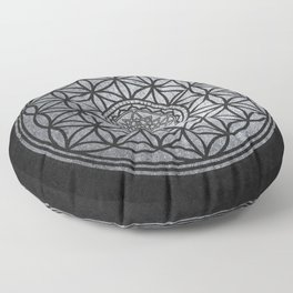 Sacred Unity - Sacred Geometry Floor Pillow