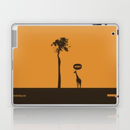WTF? Jirafa! Laptop & iPad Skin