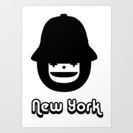 STEVEN DANA NEW YORK CHILIBOY Art Print