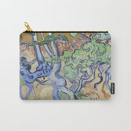 Vincent Van Gogh - Roots and Tree Trunks Carry-All Pouch