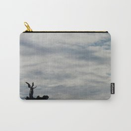 Roman angel and chariot at sunset Carry-All Pouch