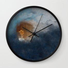 Fire Dancer Wall Clock