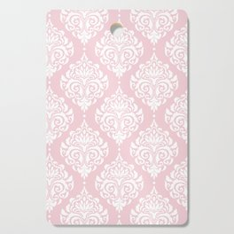 Pink Damask Cutting Board