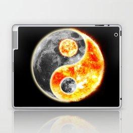 Sun Moon Day and Night Ying Yang Laptop & iPad Skin
