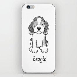 Dog Breeds: Beagle iPhone Skin