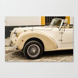Car, voiture Canvas Print