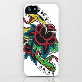 Snake Tattoo iPhone Case
