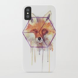 Bonjour Fox!! iPhone Case