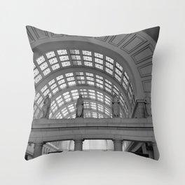 Union Station, No. 4 Throw Pillow