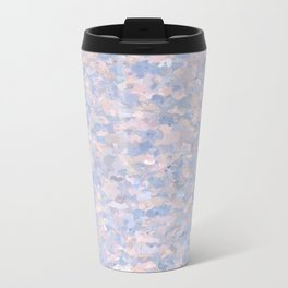 Light pink and blue popcorn 4647 Travel Mug