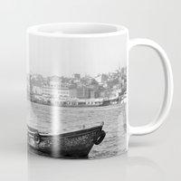 boat Mugs featuring Boat by kartalpaf