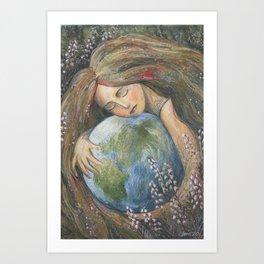 Living Planet Art Print