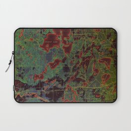 Pillager old map year 1916, american old maps Laptop Sleeve