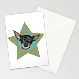 Foster (orange & teal) Stationery Cards