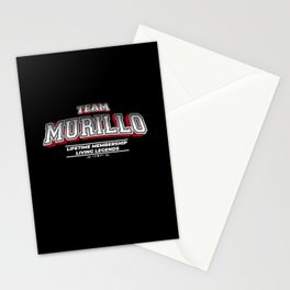 Team MURILLO Family Surname Last Name Member Stationery Cards