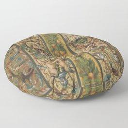 Renaissance Ornament Floor Pillow