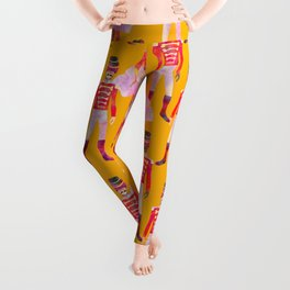 Nutcracker Ballet - Marigold Gold Yellow Leggings
