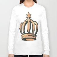 crown Long Sleeve T-shirts featuring Crown by Kritika Kripakaran
