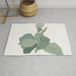 Rachel's Fiddle Leaf Rug