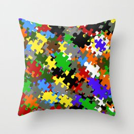 Puzzle Stones Throw Pillow