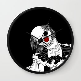 Down To The Devil You Go Wall Clock