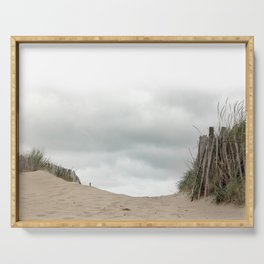 Sand_Beach_grasses_Sky Serving Tray