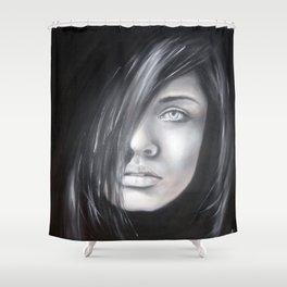 Tajemná žena Shower Curtain