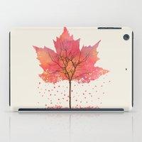 fall iPad Cases featuring Fall by Dan Hess