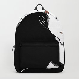 Fade to Black Moody Portrait  Backpack