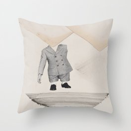 smarty-pants baby-bones Throw Pillow