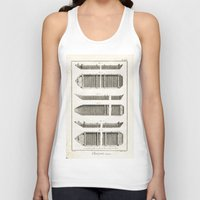 boats Tank Tops featuring Boats by Le petit Archiviste