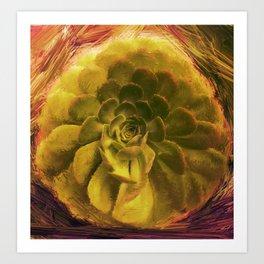 Dusucculent Art Print