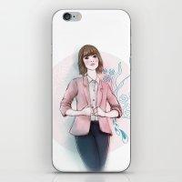peach iPhone & iPod Skins featuring Peach by missjosh