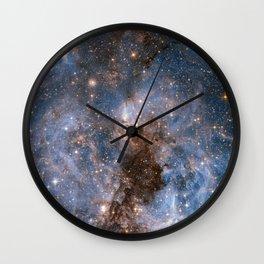 GALACTICAL STORM Wall Clock