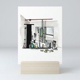 L is for Laboratory Mini Art Print
