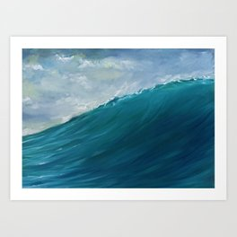 The Swell Art Print