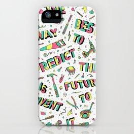 Predict The Future iPhone Case