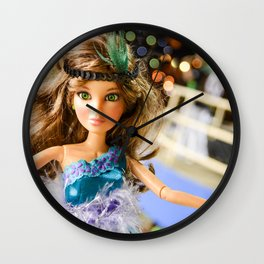 |Carnaval - Brazil - Olhos Esmeralda Wall Clock