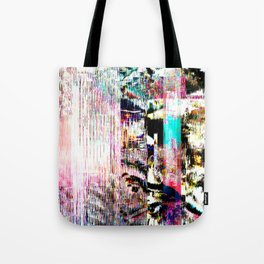 GLITCH 5 - interference (no transmitter left) Tote Bag