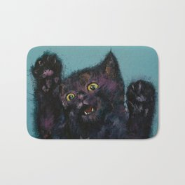 Ninja Kitten Bath Mat