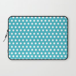 Happy Dot Aqua Laptop Sleeve