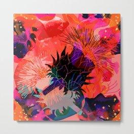 Floral constellation Metal Print
