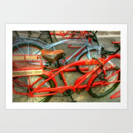 New Belgium Bikes Art Print