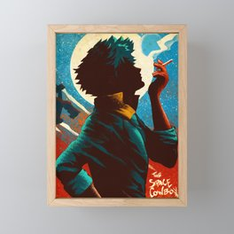 See you Space Cowboy Bebop Framed Mini Art Print