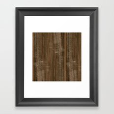Australian Walnut Wood Framed Art Print