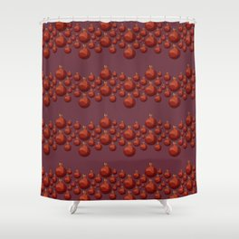 Pomegranate - Pallete I Shower Curtain