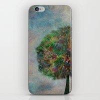 autumn iPhone & iPod Skins featuring Autumn by Klara Acel