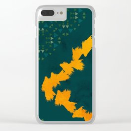 Forest yellow brick road #society6 Clear iPhone Case